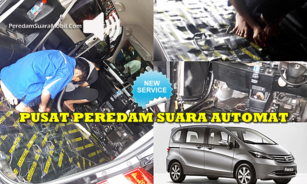 PEREDAM SUARA MOBIL FREED